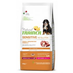 NT DOG SENSITIVE NO GLUTEN PUPPY&JUNIOR M/M DUCK (ANTIENA)