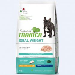 NATURAL TRAINER ADULT IDEAL WEIGHT MINI BALTA MĖSA