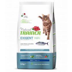 NATURAL TRAINER CAT EXIGENT SU MELSVAJA ŽUVIMI 1,5KG