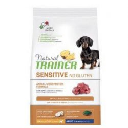 NT DOG SENSITIVE NO GLUTEN ADULT MINI LAMB PAŠARAS ŠUNIMS su ĖRIENA
