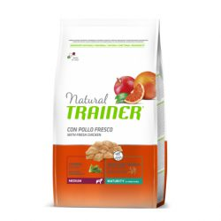 TRAINER NATURAL MEDIUM MATURITY PAŠARAS SENIEMS ŠUNIMS 3kg.