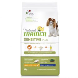 NT DOG SENSITIVE PLUS ADULT MINI RABBIT PAŠARAS ŠUNIMS su TRIUŠIENA