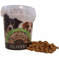 OLIVERS MINI TRAINING BITES GRAIN FREE CHICKEN