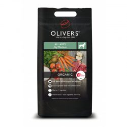 Olivers ORGANIC ALL AGES sausas šunų maistas