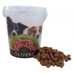 OLIVERS TRAINING BITES GRAIN FREE BEEF (jautienos skanėstas)