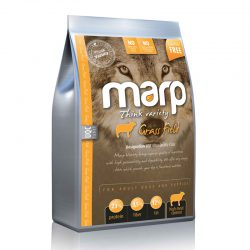 Marp think variety – Grass Field – sausas ėdalas šunims su ėriena ir ryžiais