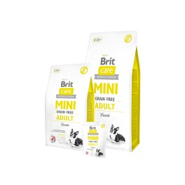 Brit Care Mini Adult Lamb maistas šunims su ėrėna