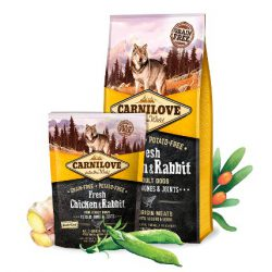 Carni Love Fresh Chicken&Rabbit for Adult šunims